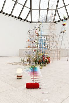 SARAH SZE by Mudam Luxembourg, via Flickr