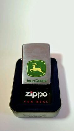 2006 ZIPPO USA John Deere Sealed Lighter with Case in Collectibles, Tobacciana…