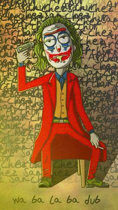 Rick X Joker - IPhone Wallpapers