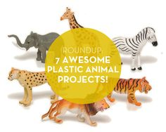 Roundup: 7 Awesome DIY Plastic Animal Projects!