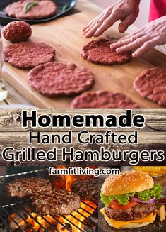 Are your taste buds craving a good grilled hamburger? Check out this recipe for homemade hand crafted grilled hamburgers everyone will love. Summer Grilling Recipes, Grilling Tips, Grilled Hamburgers, I Grill, Good Burger, Yummy Eats, Taste Buds, Cravings, Paleo