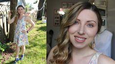 GRWM Peachy Gold Summer Wedding Makeup | Sydneexo