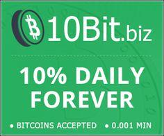 10BIT.BIZ - 10%-15% Daily Forever