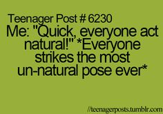 Seriously!! It's like when someone yells don't look and everyone looks