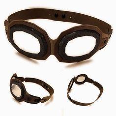 Needles 'n' Knowledge: Aviator Goggles Mask