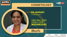 Youtube Live on Boost Immunity with Healthy Skin and Hair by Dr Jahnavi, Cosmodontist in Telugu Language at 2pm Partha Dental Youtube Account #ParthaDentalYoutubeLive #HealthySkin #HealthyHair #ImmunityIsEssential Skin And Hair Clinic, Youtube Live, Cosmetology, Telugu, Healthy Hair, Dental, Language, Beauty, Languages