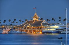 Balboa Pavilion we ate here all the time