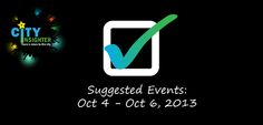 Cityinsighter suggested Vancouver weekend events october 4 - 6, 2013