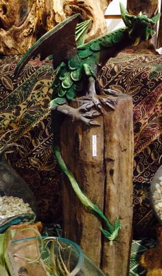 Dragons make great pets! A variety of sizes available at Tribal Mountain!