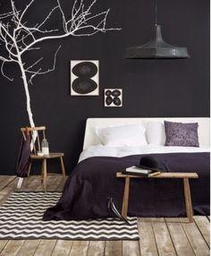 pared negra