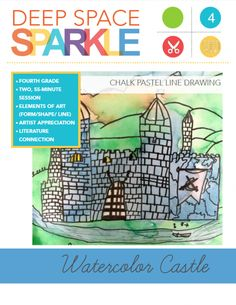 Watercolor Castle Drawing Lesson & Video