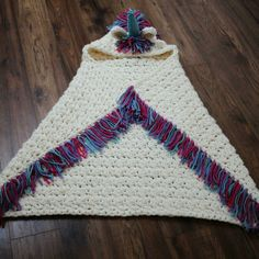 Bulky & Quick Unicorn Blanket /Cowl pattern by MJ's Off The Hook Designs . This is a PDF crochet pattern for a Bulky & Quick Unicorn Blanket! Pattern also Learn To Crochet, Crochet For Kids, Crochet Baby, Knit Crochet, Crochet Stitches, Crochet Hooks, Crochet Patterns, Crochet Blankets, Crochet Unicorn Blanket