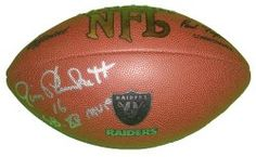 """SOLD OUT! #Jim #Plunkett #Autographed #NFL #Football Featuring """"SB XV MVP"""" Inscription with Proof Photo of Signing! #OaklandRaiders #Oakland #Raiders #RaiderNation #StanfordCardinal #Stanford #Cardinals #FearTheTree #HeismanTrophy #Heisman #NCAAFootball #NFL #Signed #Free #Shipping Click Here for #OaklandRaiders #Autographed #Collectibles:  http://autographedwithproof.com/collections/nfl-oakland-raiders"""