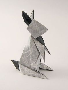 Origami Rabbit - Folding instructions: