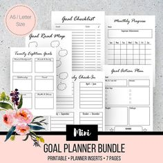 Yearly Planner Printable   Filofax A Yearly Calendar
