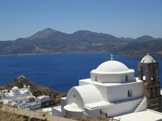 The famous church of Panagia Thalassitra in Milos island