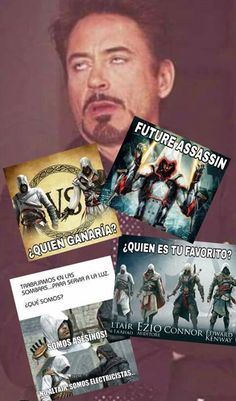 #HumorAssassin #AssassinsCreed  A falta de novedades... :) Ubisoft #assassinscreed #assassins #ubisoft #assassinscreedmovie #aguilardenerha #assassinscreed #assassins #creed #assassin #ac #assassinscreeed2 #assassinscreedbrotherhood #assassinscreedrevelations #assassinscreed3 #assassinscreedblackflag #assassinscreedrogue #assassinscreedunity #assassinscreedsyndicate #altairibnlaahad #ezioauditore #connorkenway #edwardkenway #arnodorian #jacobfrye #eviefrye #pc #xbox #playstation