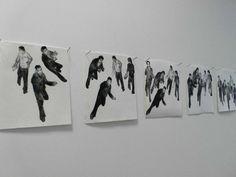 """Exhibition view """"En mouvement"""". Lille."""