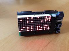 Dot-Matrix MSP430 alarm clock update