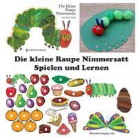 Die Raupe Nimmersatt - Ideen und Spiele für Kindergarten und Kita   Kindersuppe ABO