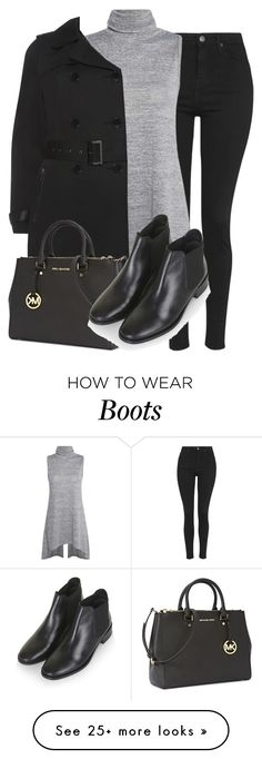"""basing boots - perrie insp"" by littlemixmakeup on Polyvore featuring Topshop and Michael Kors"