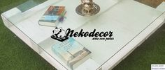 Muebles con palets  #palets #palés #pallets #muebles #recicla #reutiliza #dormitorio #decoración #wood #madera #woodmaker #nekodecor #diferenciatuhogar #acogeunneko   #portadas    www.nekodecor.com