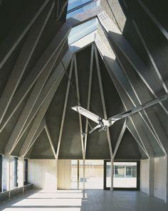 brockholes visitor centre | interior ~ adam khan architects