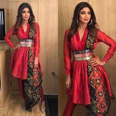 Indian Ethnic Wears Worn By Bollywood Actresses - Designer Dresses Couture Pakistani Dresses, Indian Dresses, Indian Outfits, Indian Clothes, Churidar, Anarkali, Lehenga, Dhoti Saree, Salwar Kameez