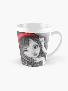 """""""Girl with butterflies! """" Mug by Akatamakata 