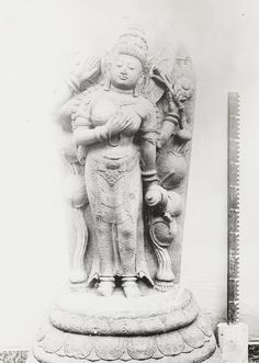 of Bhrkuti from candi Jago (inv no Jakarta, World War Ii, Indie, Museum, Statue, Collection, World War Two, Wwii, Museums