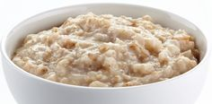 Slow Cooker Creamy Old-Fashioned Oatmeal - EASY and HEARTY Breakfast!  YUM!  www.GetCrocked.com