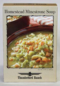 Homestead Minestrone Soup – Thunderbird Ranch Gourmet Foods