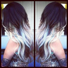 I like this, but with not as bright of a blonde, and with pink strands!