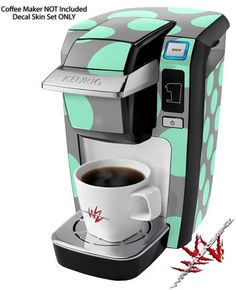 Keurig Coffee Maker Green : 1000+ images about Keurig Coffee Maker Skins on Pinterest Coffee maker, Keurig and Decals