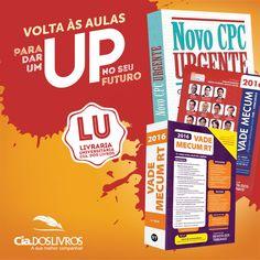 Prepare-se para a Volta às aulas com a Editora RT, aqui na Cia.! Vade Mecum, CLT, Processo Civil, Direito Comercial e muito mais. Vem! -> http://profhorac.io/1bt