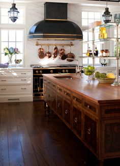 Beautiful edwardian style kitchen by artichoke copper for Traditional home great kitchens