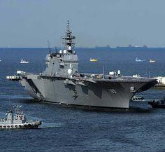 海上自衛隊最大の新型ヘリコプター搭載護衛艦「いずも」(DDH183)が2015年3月25日、就役した。いずもは基準排水…