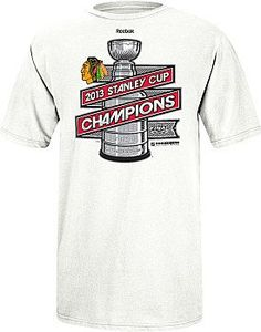 Official 2013 Stanley Cup Champion T-Shirt