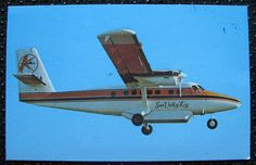sun valley key airlines, dhc-6 twin otter circa 1973