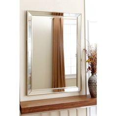 Shop for Abbyson Ariel Rectangle Wall Mirror. Get free shipping at Overstock.com - Your Online Home Decor Outlet Store! Get 5% in rewards with Club O! - 15591045