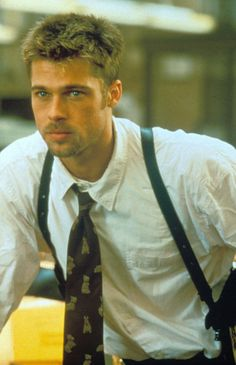 Brad Pitt in Seven - Brad Pitt's most handsome on-screen moments Jennifer Aniston, Brad And Angelina, Angelina Jolie, Sarah Michelle Gellar, Mariska Hargitay, Johnny Depp, Lea Michele, Bard Pitt, Actor