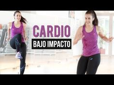 Rutina de cardio 25 minutos intensidad moderada para adelgazar - YouTube