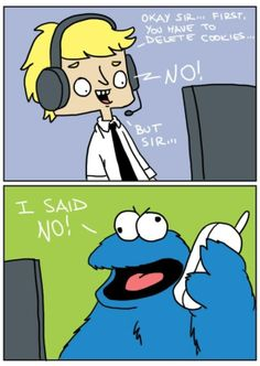 Tech Support vs. The Cookie Monster -