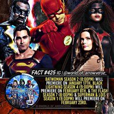 Superman Lois, Cw Dc, February 8, Black Lightning, Batwoman, Season 7, Fan Page, The Flash, Facts