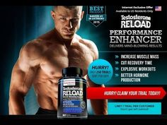 Test Reload Performance Enhancer - Increase Muscle Mass Test Reload