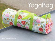 Nähen kann so einfach sein – die YogaBag
