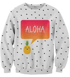 Aloha sweater, Mr. GUGU & Miss GO