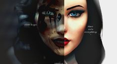 I mixed those 2 photos in one ;)  Time rots everything, Booker...even hope