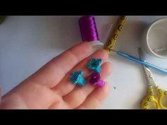 Crewel Embroidery, Crochet Flowers, Tatting, Crochet Necklace, Make It Yourself, Earrings, Arkansas, Jewelry, Youtube