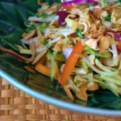 Asian Slaw with Crunchy Noodles by porkandperiwinkle